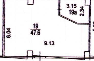 Торговое помещение 55,15 м2